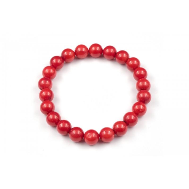 Bracelet Corail Rouge.