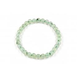 Bracelet élastique en pierres de Préhnite 6 M