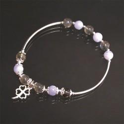 Bracelet Argent 0.925 Agate...