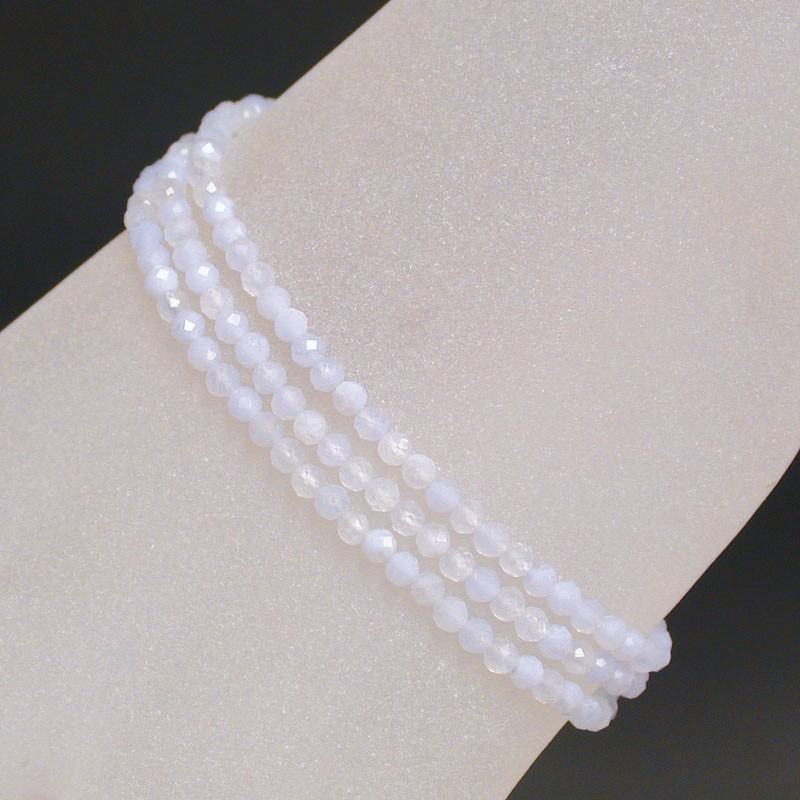 Bracelet Agate Blue Lace 3mm 50 M
