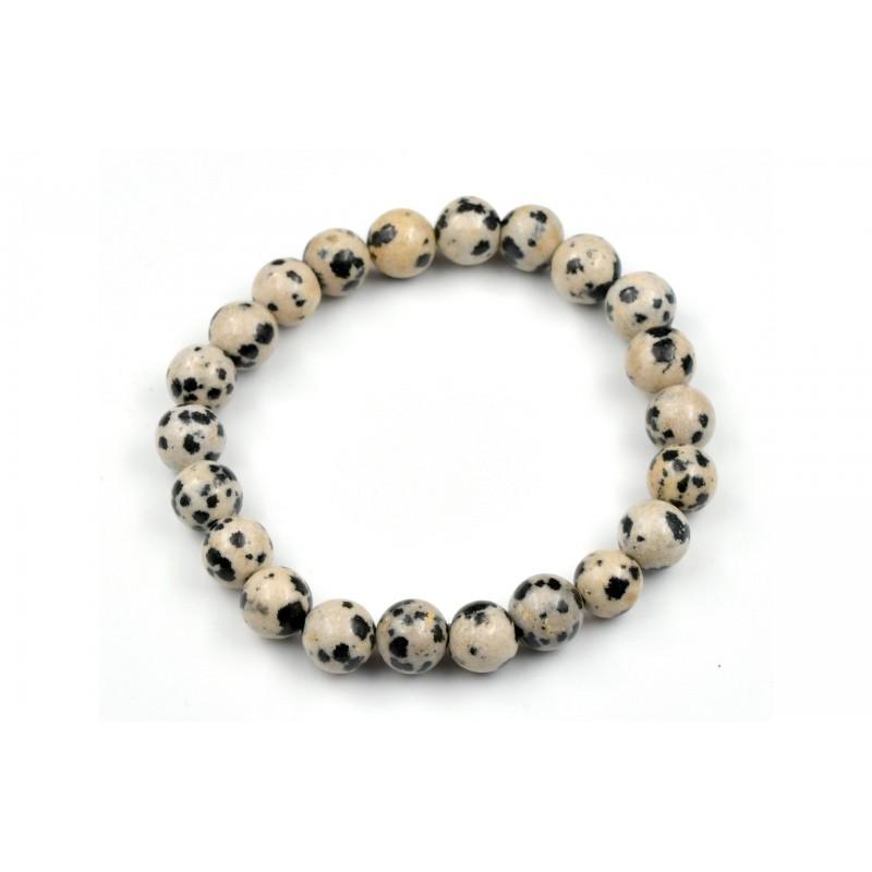 Bracelet Jaspe Dalmatien 8mm M
