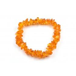 Bracelet baroque Ambre claire