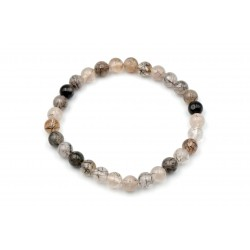 Bracelet Quartz Tourmaline 6mm M