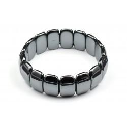 Bracelet Hématite à Plaquettes M
