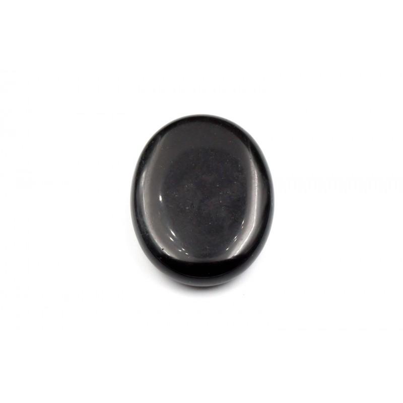 Pierre Plate Obsidienne 45mm M