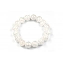 Bracelet Cristal de Roche craquelé 12 M
