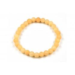 Bracelet Calcite Orange Dépoli 6 M
