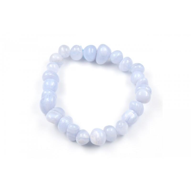 Bracelet Agate Blue Lace PR M