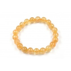 Bracelet CITRINE 8 QX M