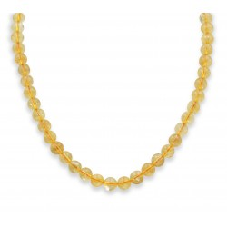 Collier en Citrine 8mm M