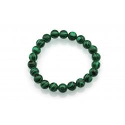 Bracelet malachite 8 A